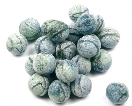 bonbons blau apfel holunder
